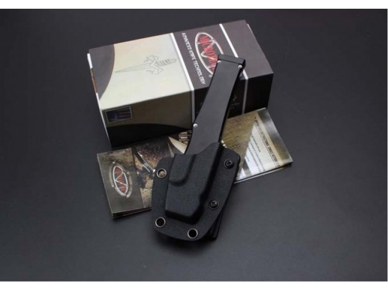 Нож фронтальный Microtech Troodon mini, black