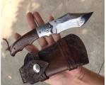 Складной нож Дамасская сталь NKOK638