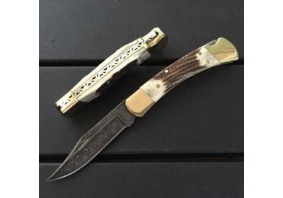 Нож Buck 110 дамаск NKBK016