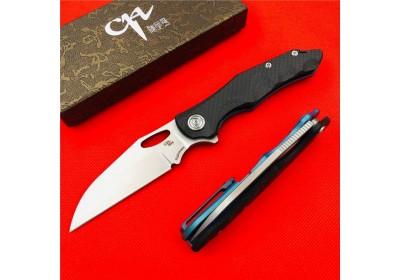 Нож CH Nighthawk S35VN Titanium Carbon Flipper NKCH010