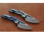Нож VENOM M390 Carbon Titanium NKOK733