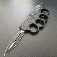 Автоматический нож-кастет Biker NKOK768