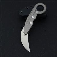 Складной нож karambit M390 Titanium NKOK822