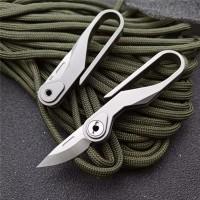 Складной нож-брелок M390 Titanium NKOK841