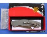 Складной Нож Titanium Spyderco Millitary C36 NKSP010