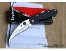 Складной нож Spyderco Civilian Black NKSP015